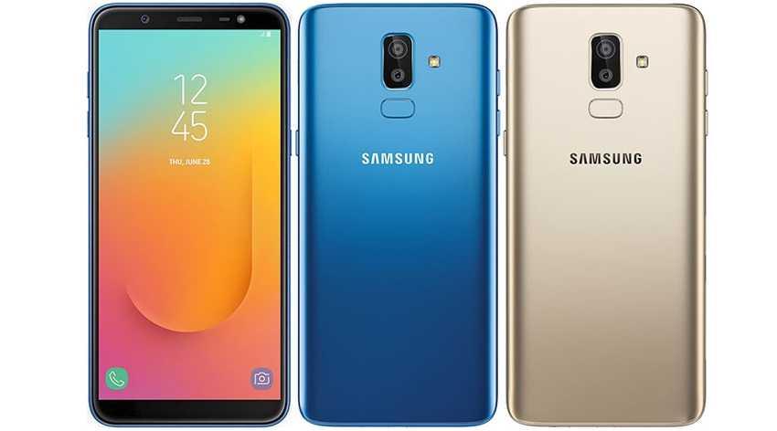 Samsung Galaxy J8 недорогой полноэкранный смартфон с двойной камерой