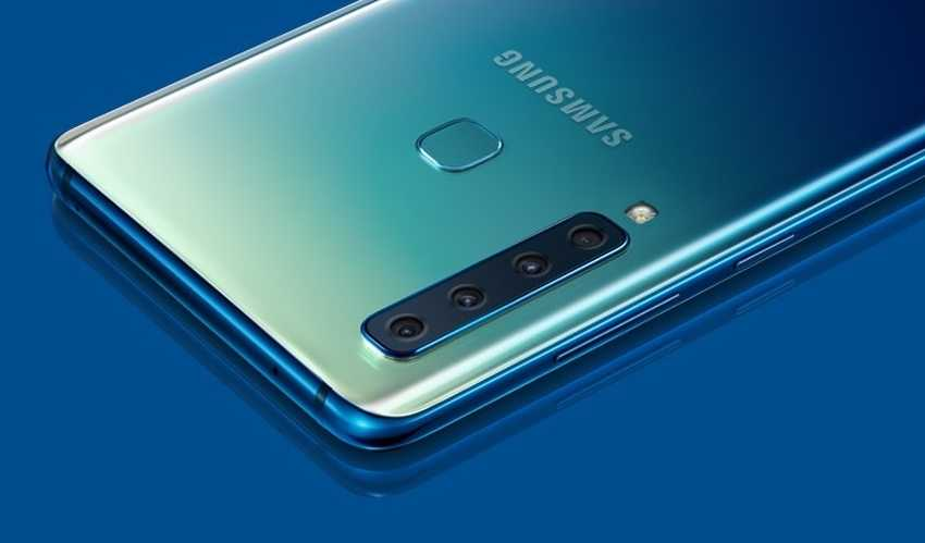 Samsung Galaxy A9 (2018) смартфон с 4 основными камерами характеристики