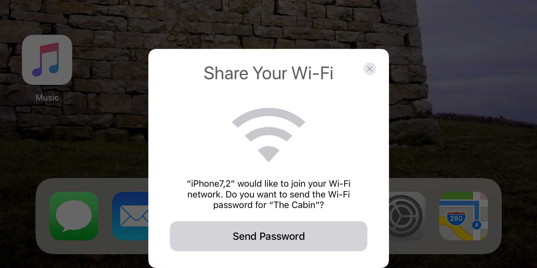 How to share Wi-Fi from your phone