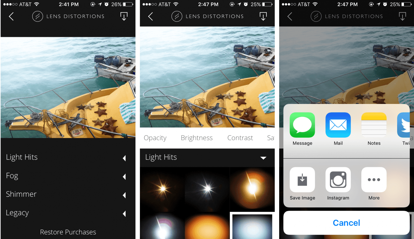 TOP 7 most popular apps for editing photos