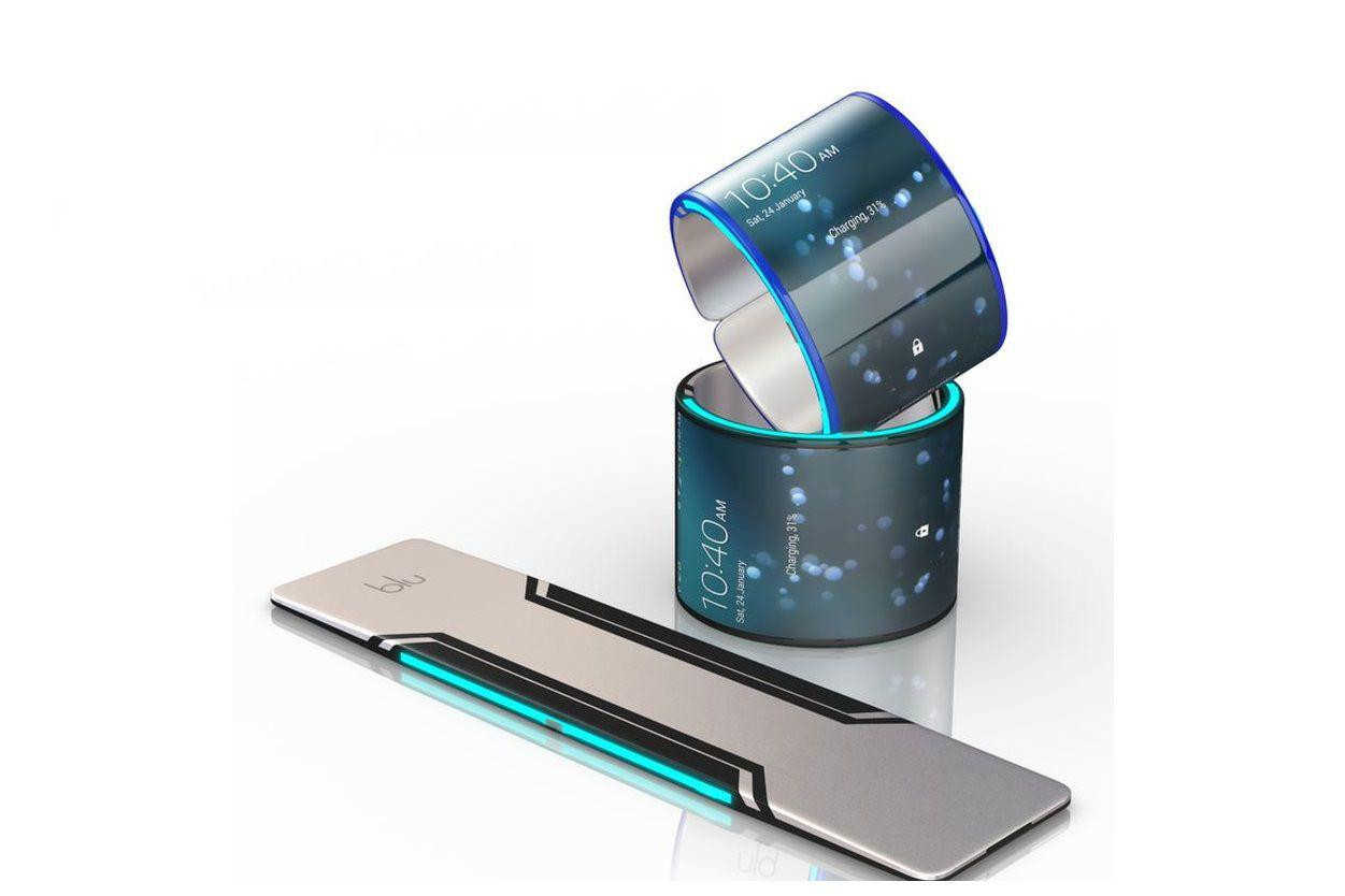 Smartphone bracelet from Samsung that is known about the new product