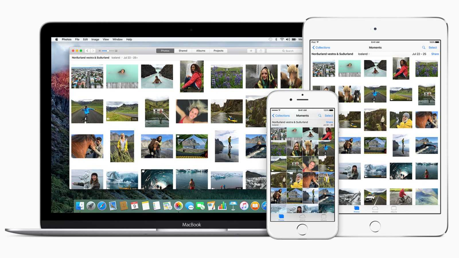 How to throw photos from iPhone to computer