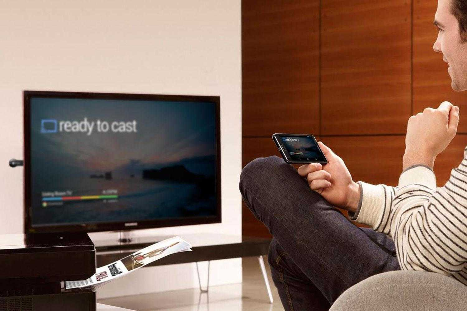How to connect smartphone to TV