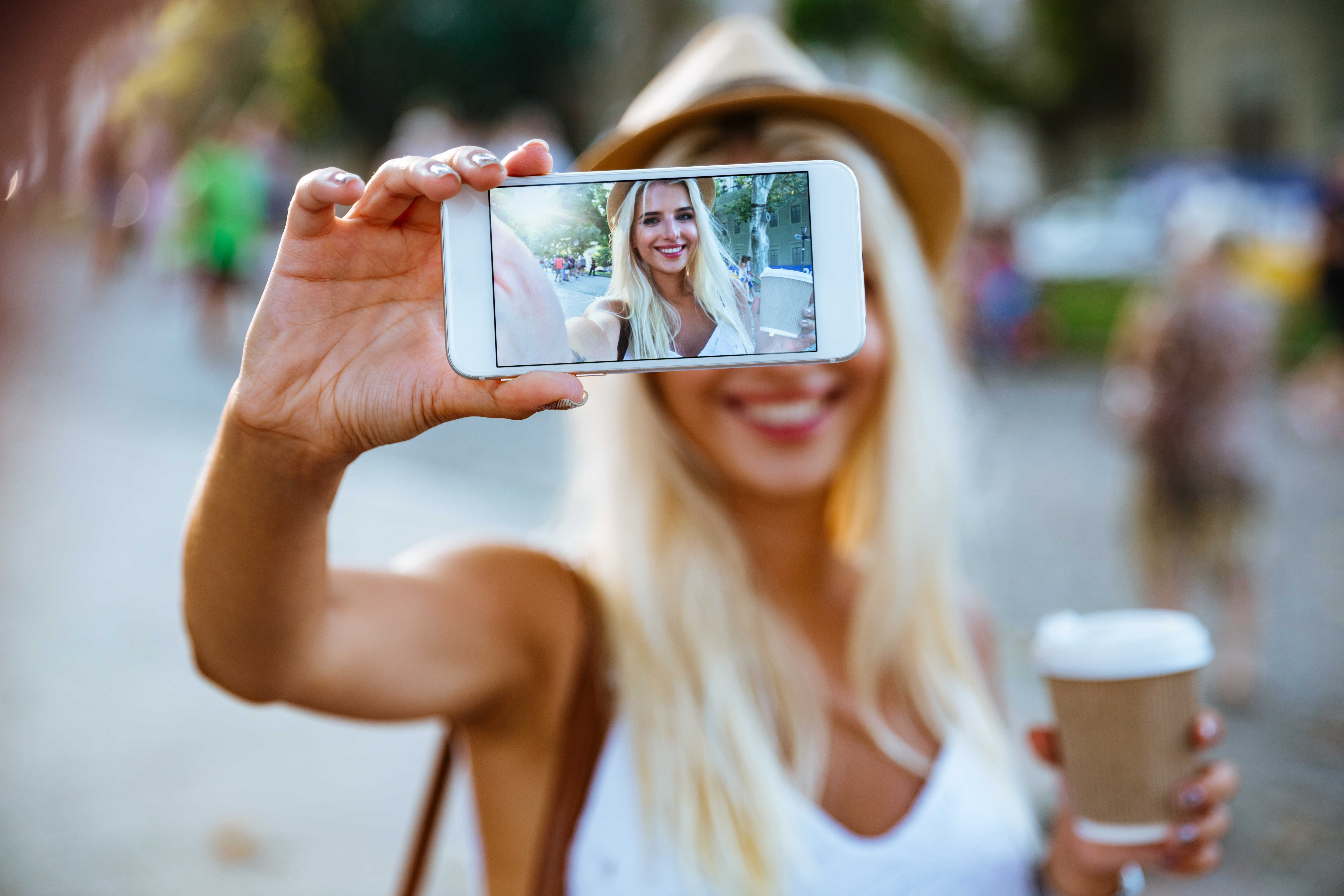 How to make the most creative selfie? [of ideas]