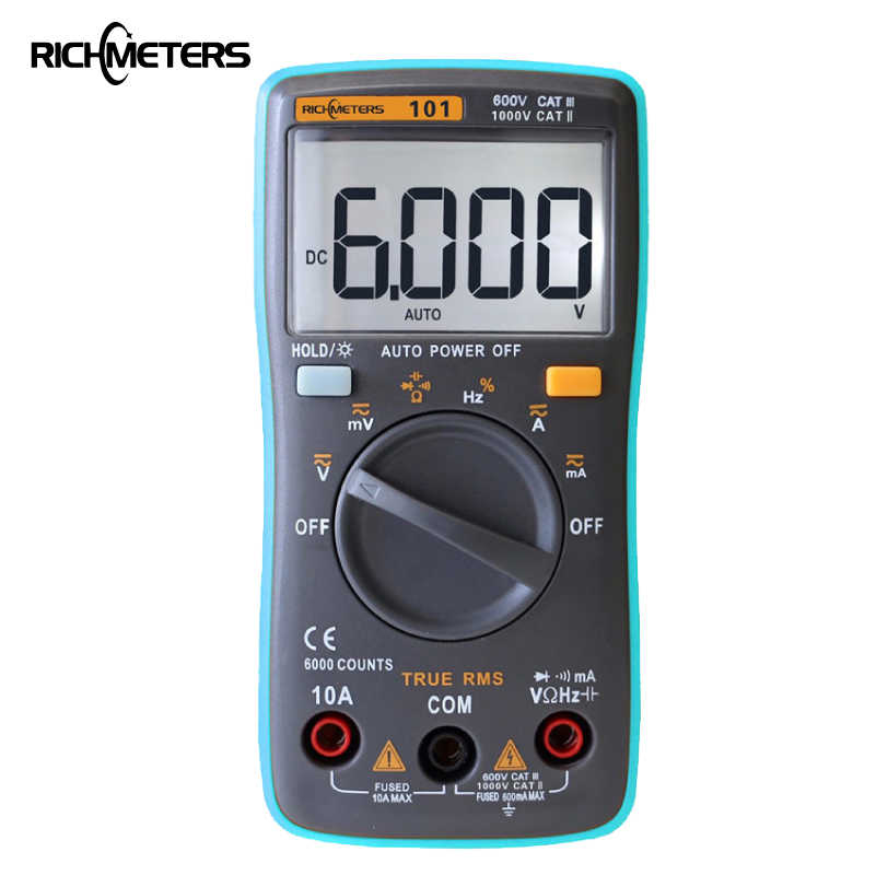 Eight best Chinese multimeters with experience in 2020