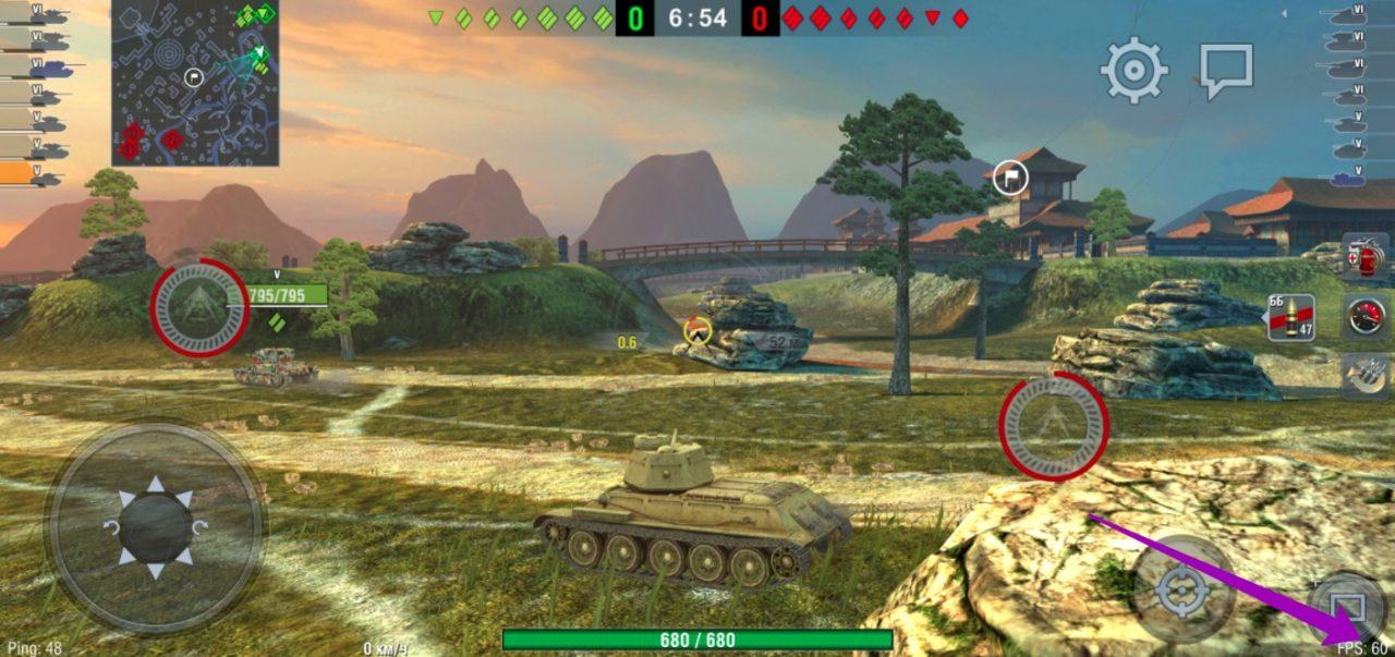 WOT Blitz - 60 FPS